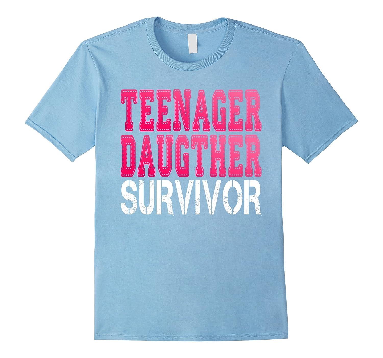 Teenager Mom funny Sarcasm T-shirt Comic Humor Lady-Vaci