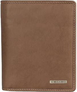 54ba876408f79 Bisoli Portemonnaie Männer Leder Braun Vintage extra flach BS 69 ...