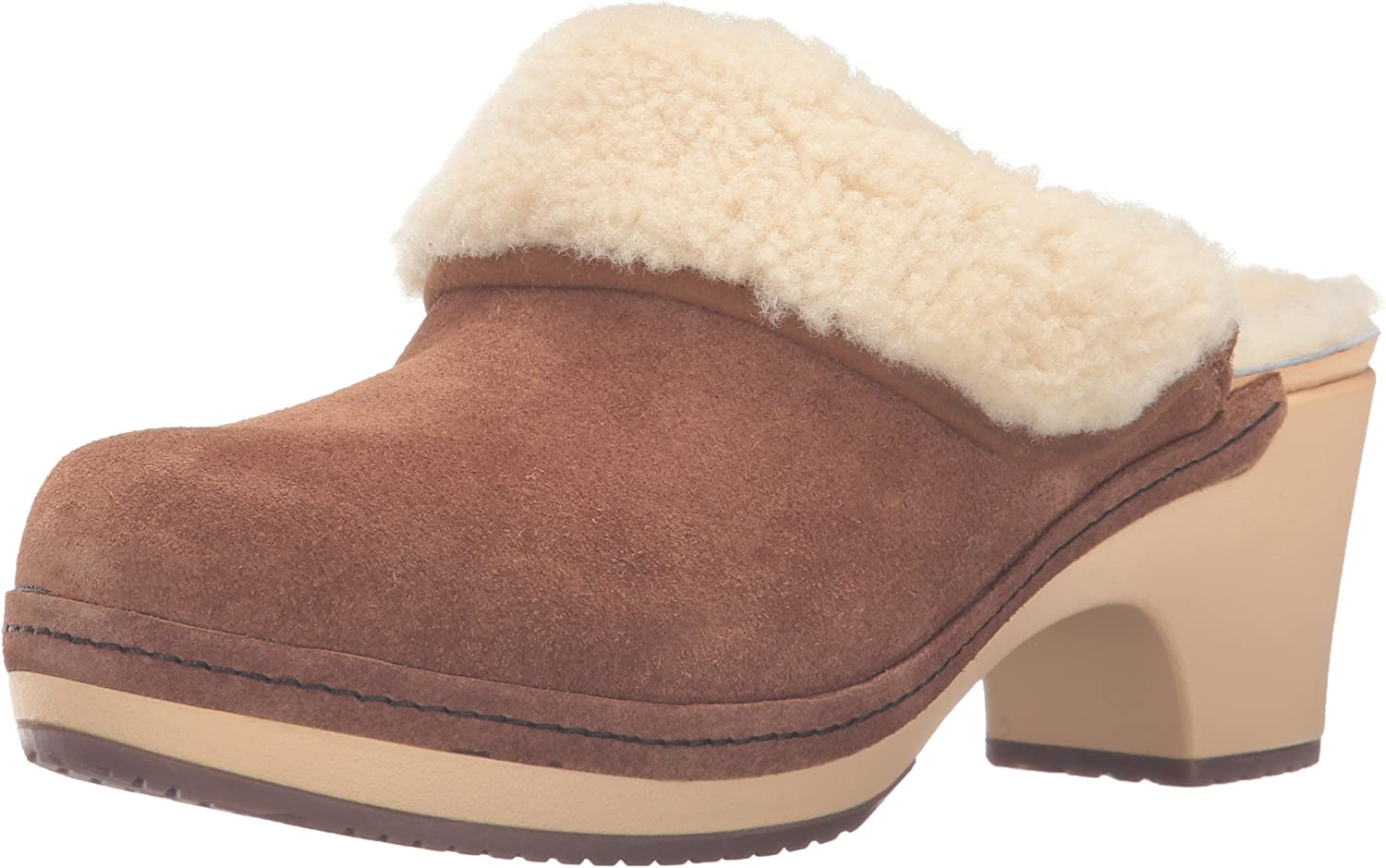 Sarah Luxe Lined Clog Mule