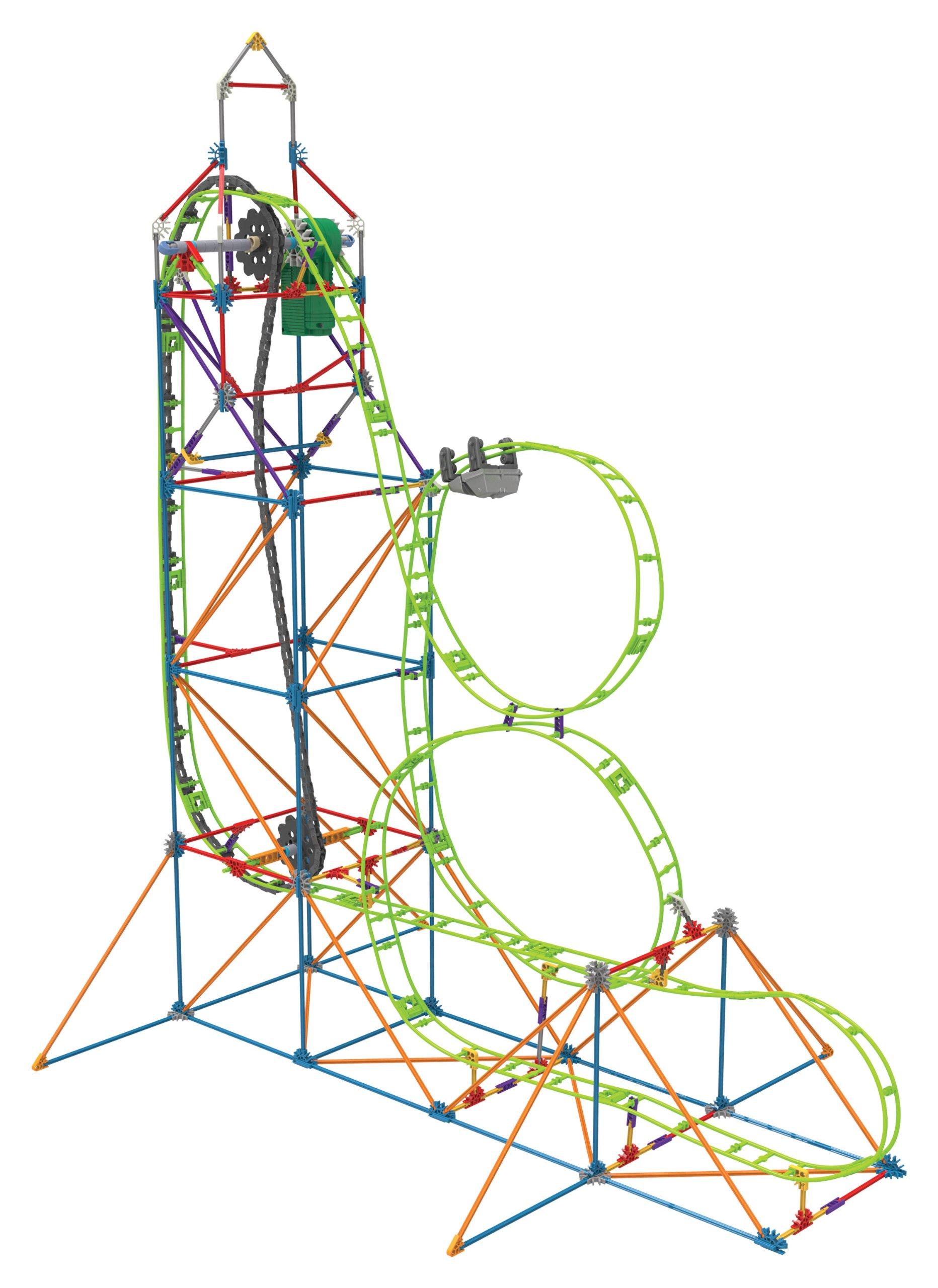K'NEX Amazin' 8 Roller Coaster Building Set(Discontinued by manufacturer)