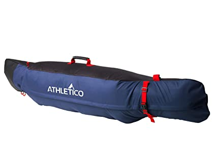 647547ac1333 Athletico Freestyle Padded Snowboard Bag - Travel Bag for Single Snowboard  Up to 175cm (Black