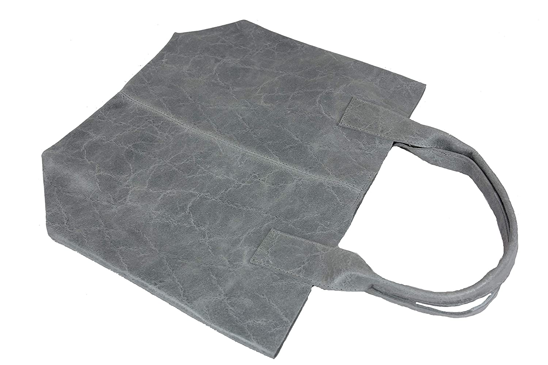 Henkeltasche Beuteltasche Damentasche Shopper XXL grau Wildleder B07KFH43GN Shopper Shopper Shopper Markenschmaus de0117