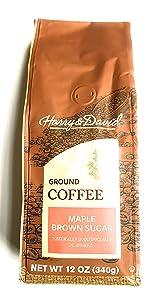 Harry & David Maple Brown Sugar Coffee - 12 Ounce Bag of Ground Coffee
