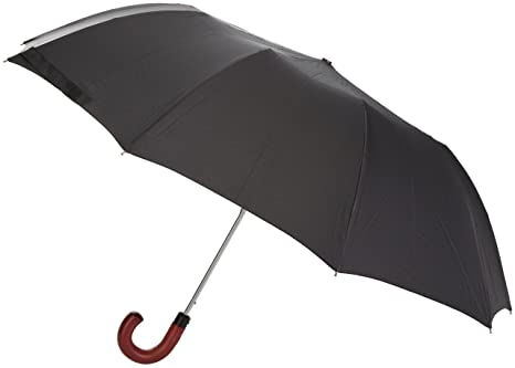 Fulton - Paraguas para hombre, talla Talla única, color Negro