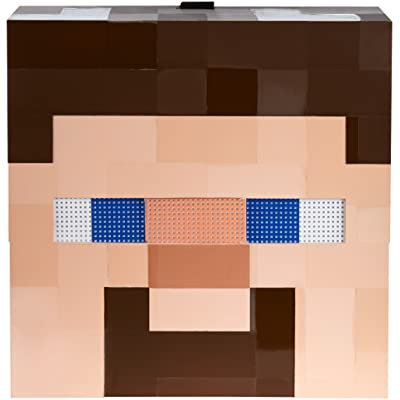 Minecraft Steve Mob Mask: Toys & Games