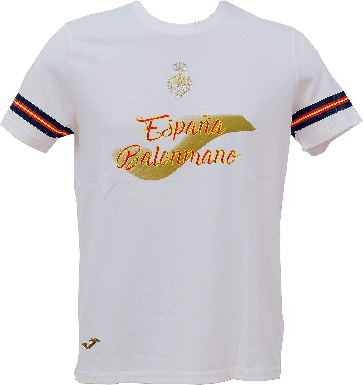 Camiseta Joma Paseo España Balonmano - M: Amazon.es: Deportes y ...
