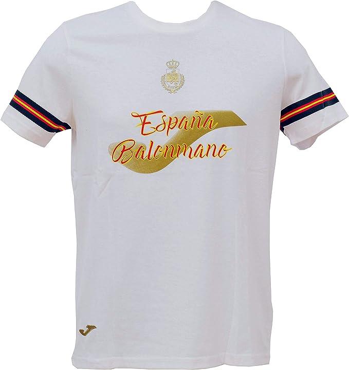 Camiseta Joma Paseo España Balonmano - M: Amazon.es: Deportes y aire libre