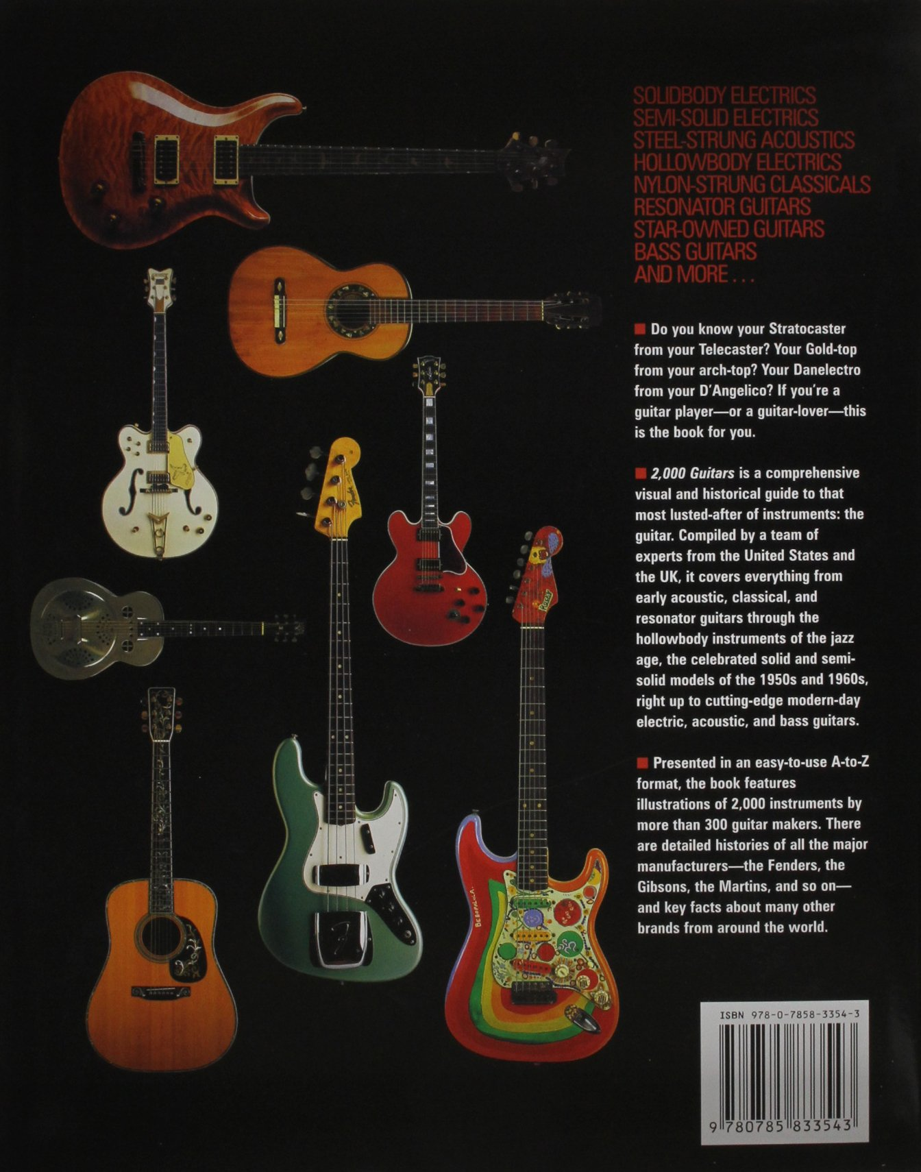 2 000 guitars tony bacon books