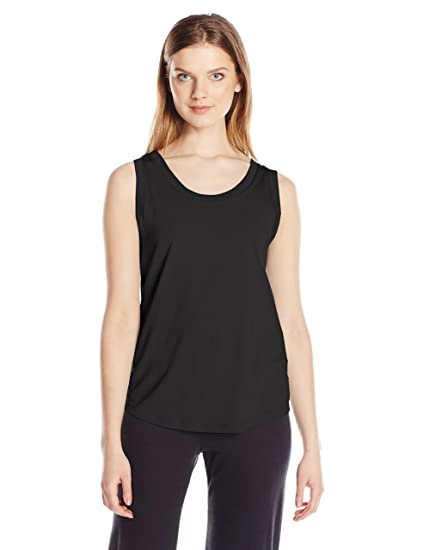 6f8e9bca9 Alternative Women's Cotton Modal Sleeveless Jersey Muscle Tee, Black Small