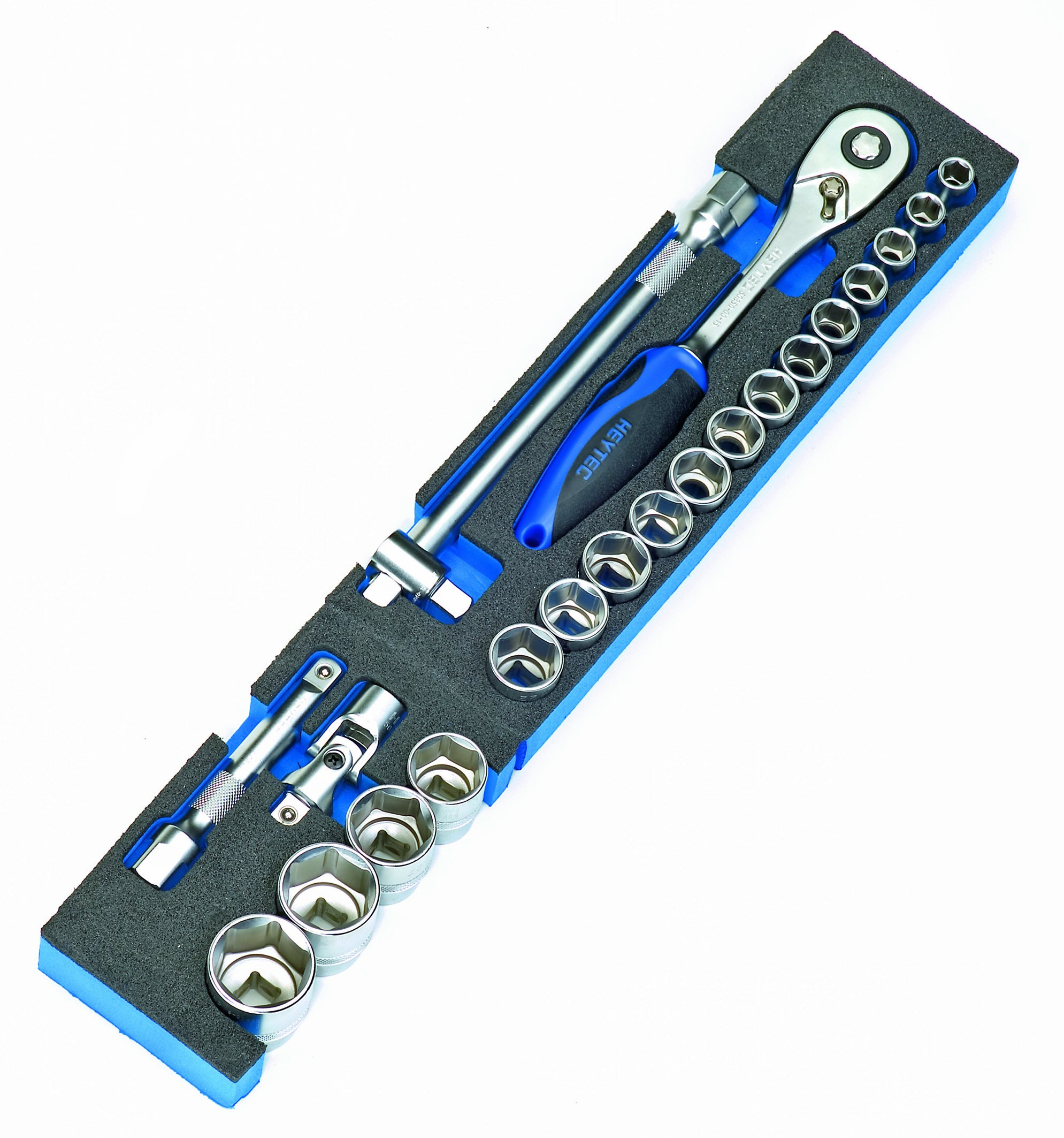 Heytec Heyco 50829-30 50829003083 Tool Box Module For Operating Tools 1/2 Inch 21-Piece Set
