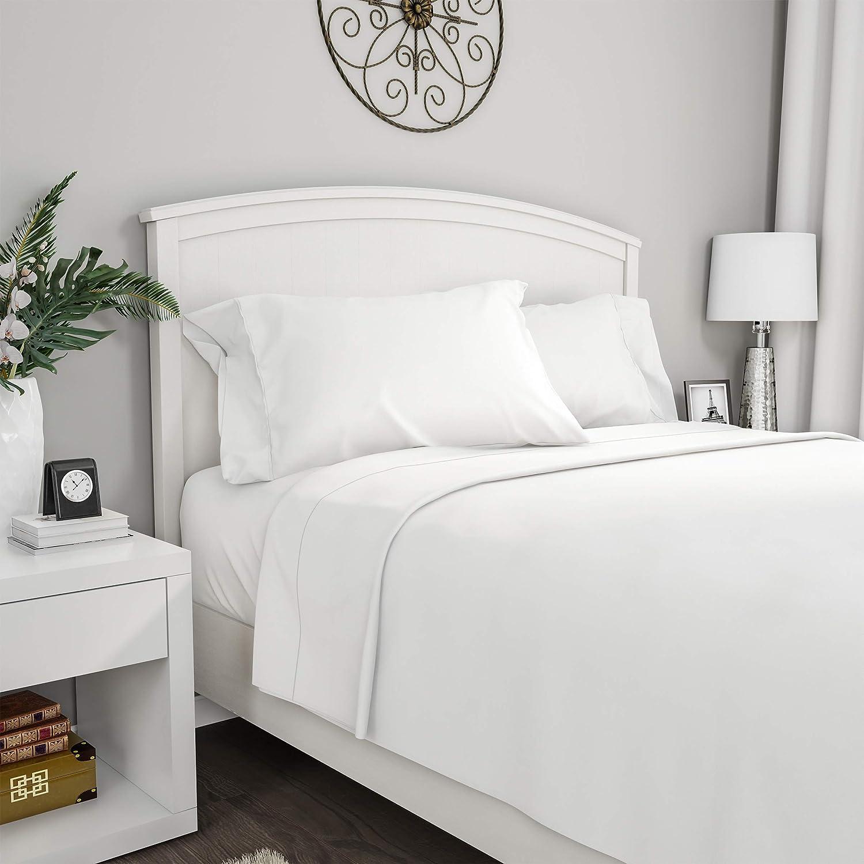 Lavish Home 1200 4-Piece Sheet Set, Full, White