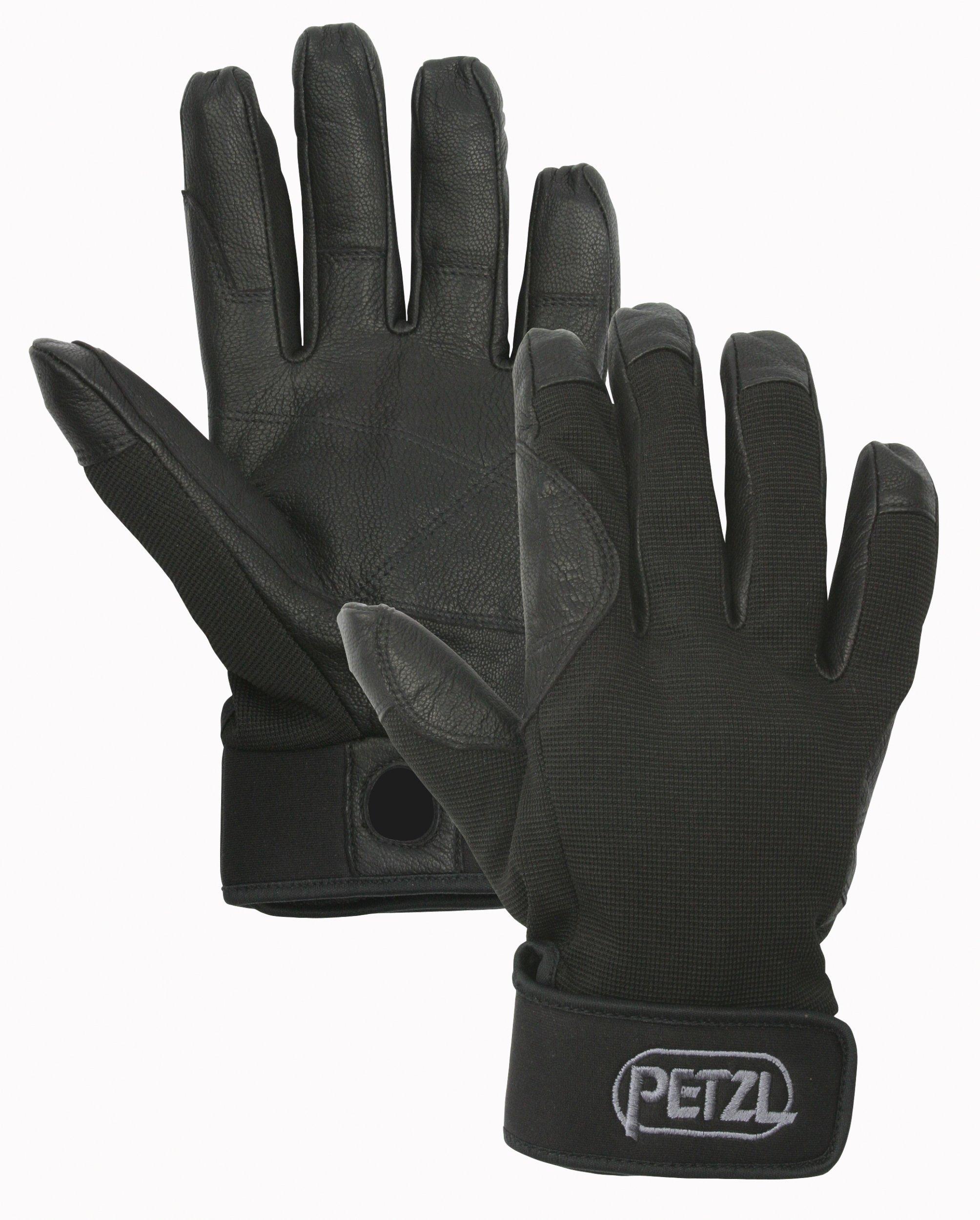 Petzl K52 CORDEX Lightweight Glove, Black, Small by Petzl (Image #1)