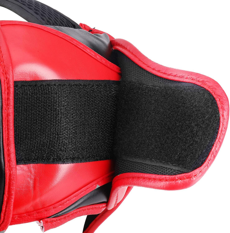 UFC Muay Thai Kickboxing Artes Marciales Sparring Taekwondo Karate Lucha Deportes Boxeo Lucha Maya Oculto Cuero Casco protecci/ón Suministros Equipo Flexzion MMA Headgear