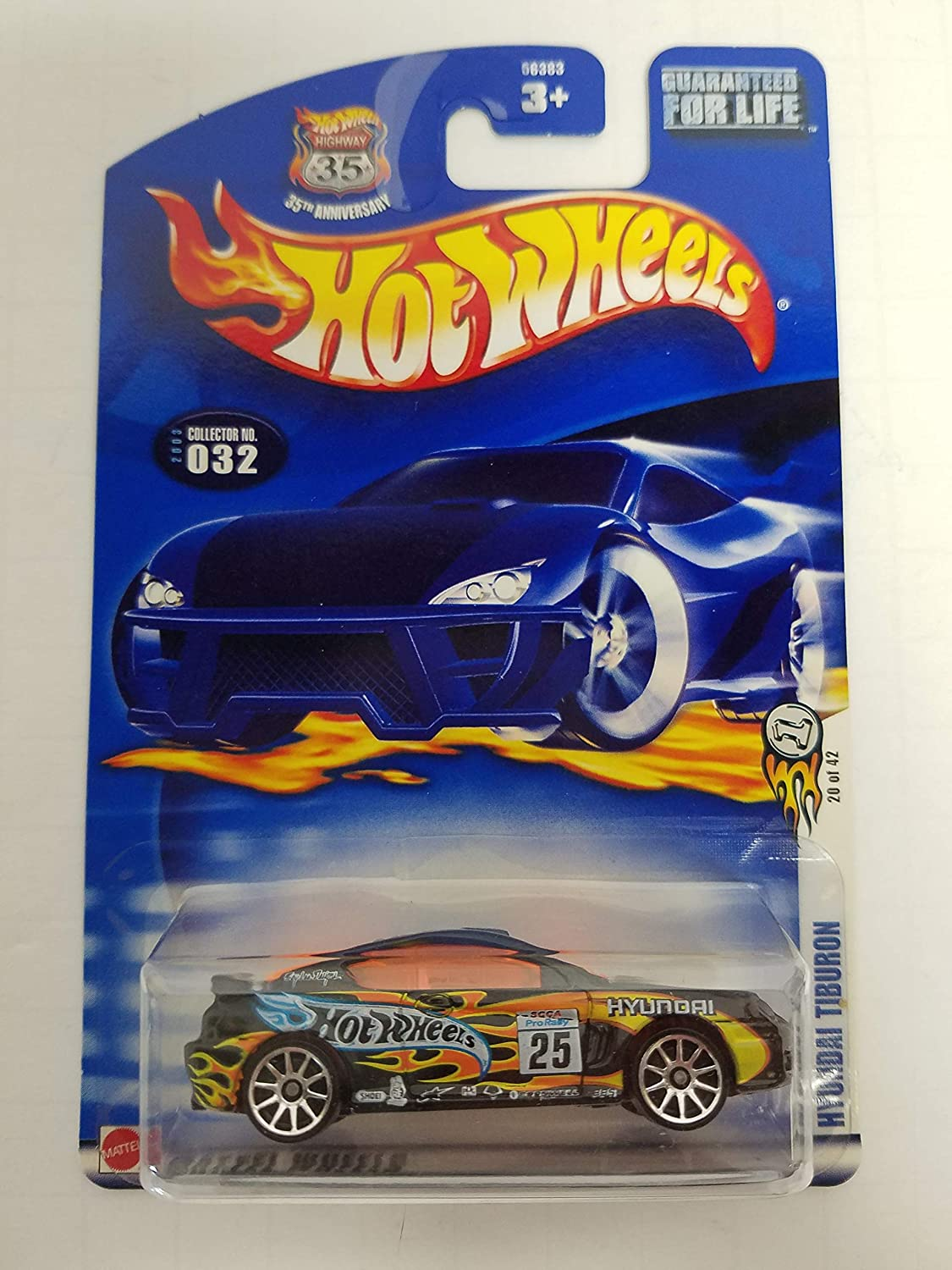 Hyundai Tiburon 2003 First Editions 20 of 42 Hot Wheels NO. 032
