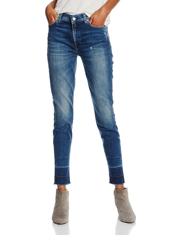 7 For All Mankind Damen Jeanshose Hw Skinny Unrolled