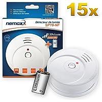 15x Nemaxx SP10-NF Detector de Humo - Pila