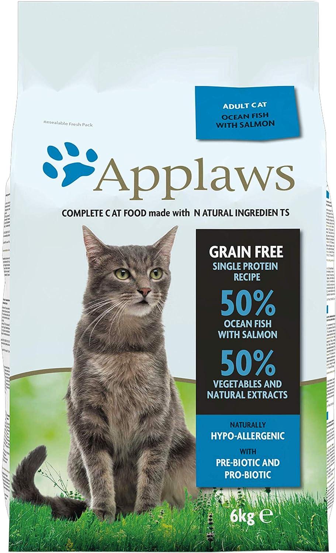Applaws Comida Seca Gatos Adultos, Pescado y salmón