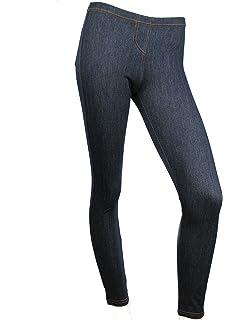 a6f591116d Love Lola Womens Leggings Ladies Skinny Jeggings Denim Finish Stretch  Pocket Jeans