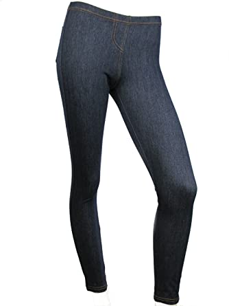 ad5e0b90e5a63 Love Lola Mallas Deportivas para Mujer Ladies Skinny Jeggings Denim Acabado  Bolsillo Stretch Jeans Azul Azul 36  Amazon.es  Ropa y accesorios