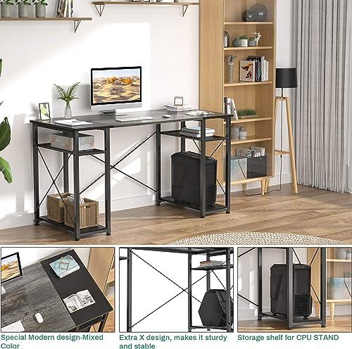 Homfio Desk Modern Office Desk