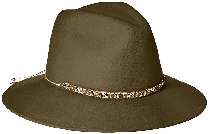 f1554350159 Gottex Women s Moonlight Wool Felt Sun Hat w Jewel Trim