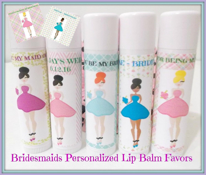 Amazon.com: Bridesmaid Lip Balm - Will You Be My Bridesmaid ...