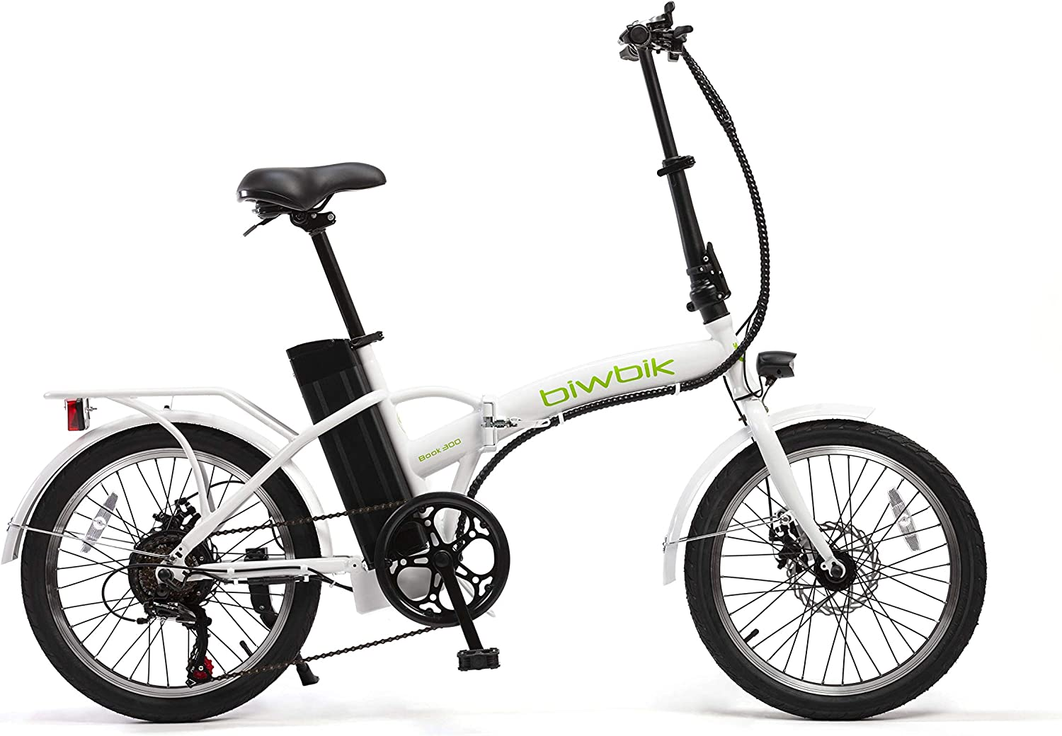 BIWBIK Bicicleta ELECTRICA Plegable Book: Amazon.es: Deportes y ...