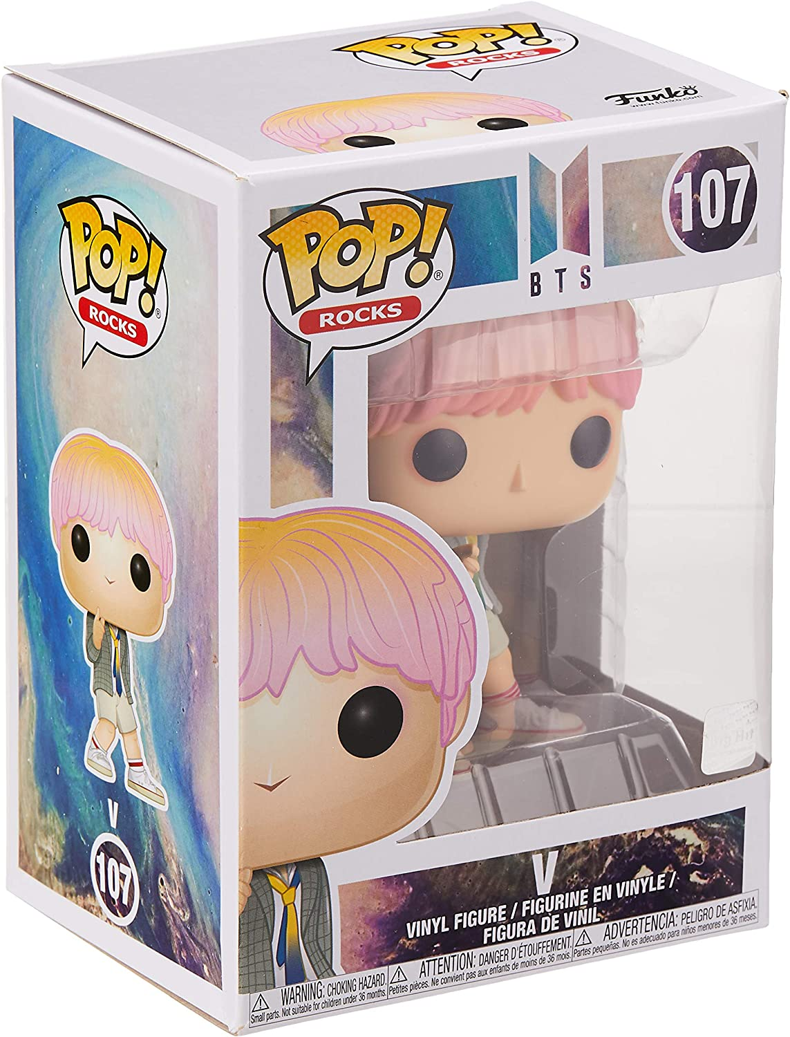 Stylized Vinyl Figure 107 V Rocks BTS Funko POP