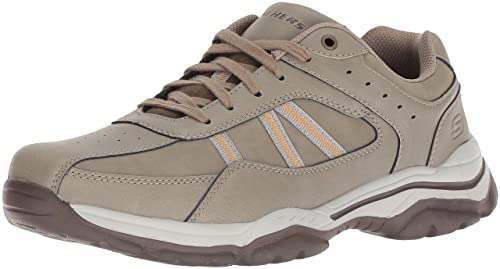 2f88f0fad8edc Skechers Men's Relaxed Fit-rovato-texon Oxford: Amazon.co.uk: Shoes ...