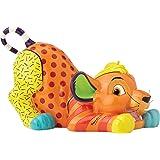 Disney Britto Collection Simba Figurine, Resin, Multicolour, 20 x 12.5 x 12 cm