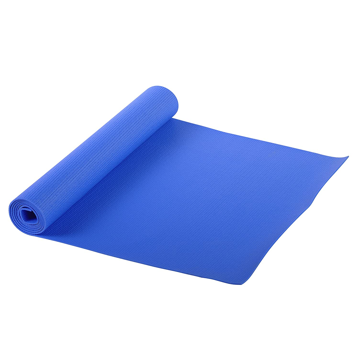 Amazon.com : Sunny Health and Fitness Yoga Mat (Blue) : Exercise Mat ...