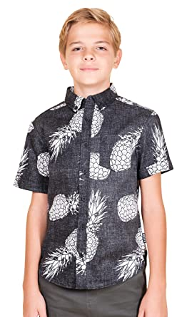 5abcb4b1 Brooklyn Athletics Men's Big Boys' Hawaiian Aloha Shirt Vintage Casual  Button Down Tee: Amazon.in: Clothing & Accessories
