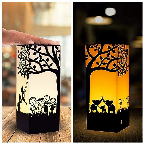 Long Distance Touch Lamp Set, Telepathy Friendship Lamps