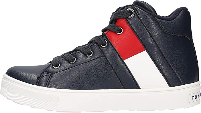 Tommy Hilfiger T3B4 30510 0739800 Sneakers Bambino: Amazon