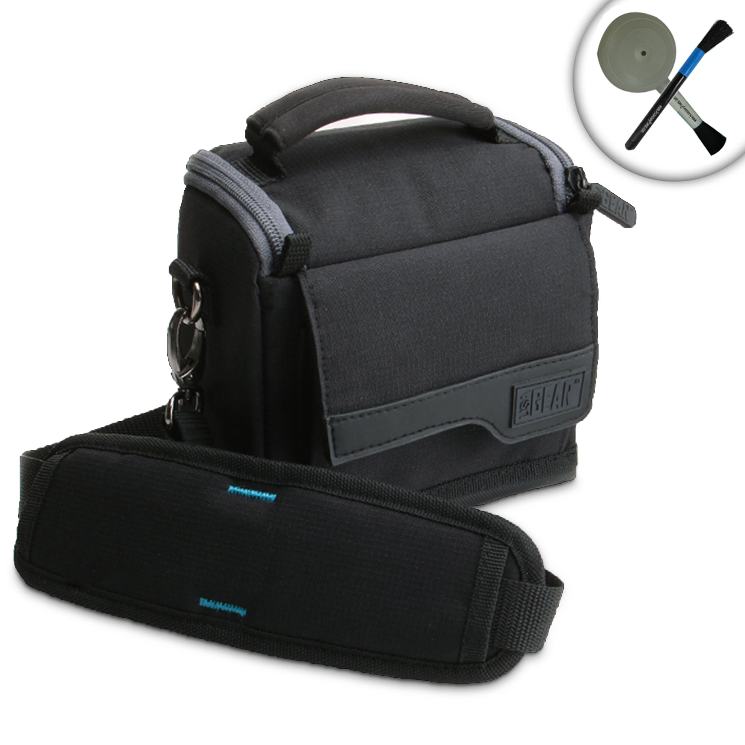 For Nintendo 2DS Travel Case Bag with Carrying Strap , Handle and Storage for Accessories including Chargers , Games, Headphones and More