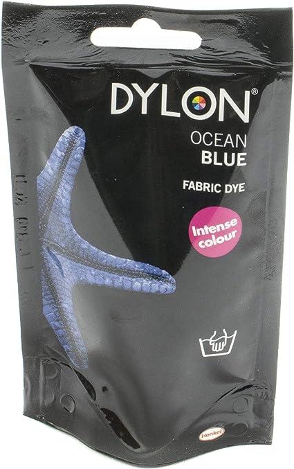 Dylon Tinte para Tela, Azul Marino (Ocean Blue), 50 g
