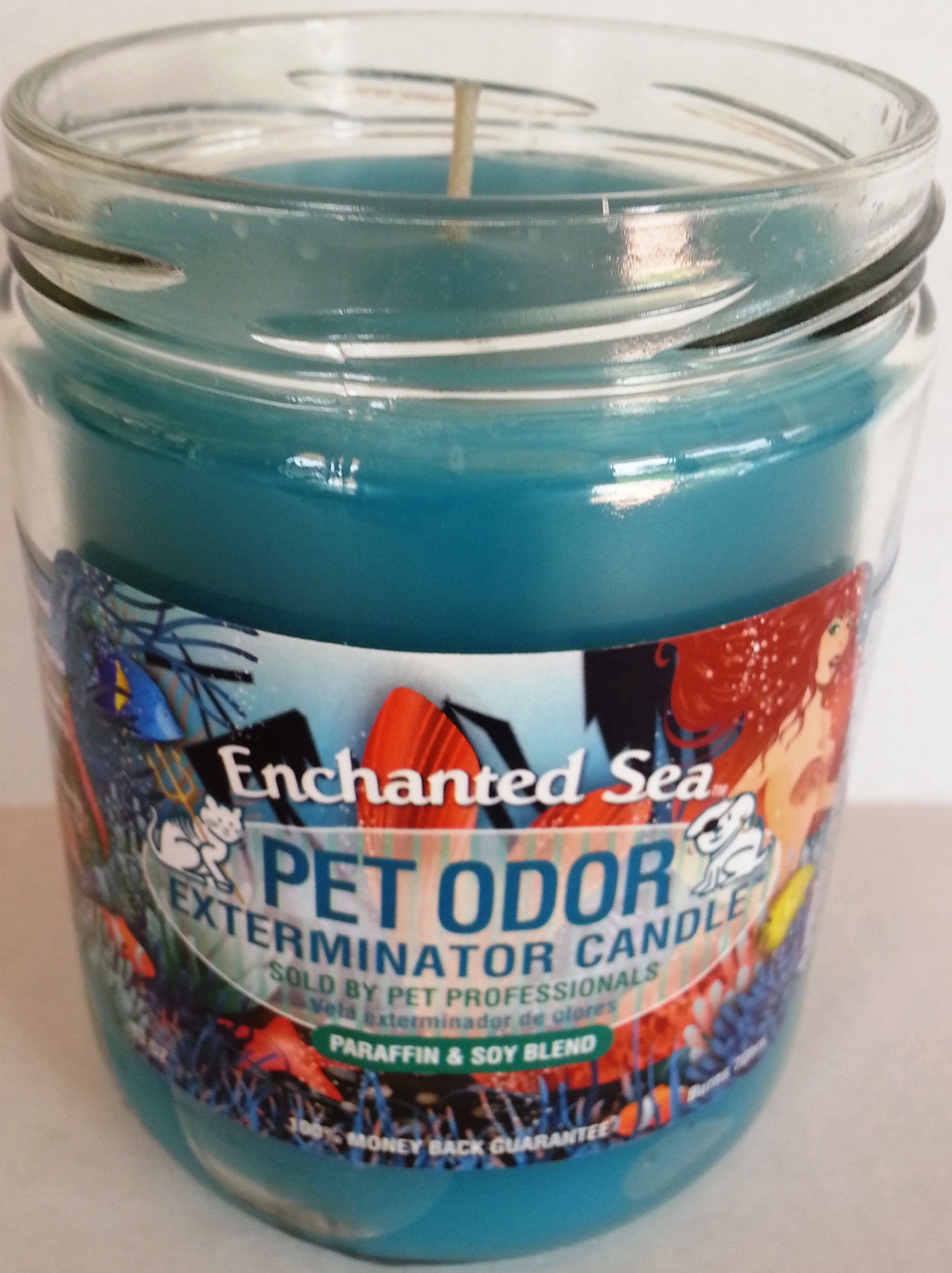 Pet Odor Exterminator Candle, Enchanted Sea,13 oz