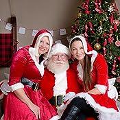 Amazon.com: Rubies - Traje de Papá Noel con guantes de ...