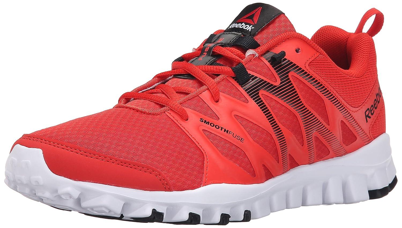 new arrival 9a152 e8b7d Reebok Men s Realflex Train 4.0 Training Shoe, Motor Red Laser Red Black  White, 9.5 M US  Amazon.ca  Shoes   Handbags