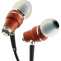 Symphonized NRG X Premium Genuine Wood Earbuds in-Ear Noise-Isolating Headphones (Black)