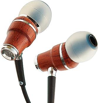 Symphonized NRG X Premium Genuine Wood Earbuds Headphones
