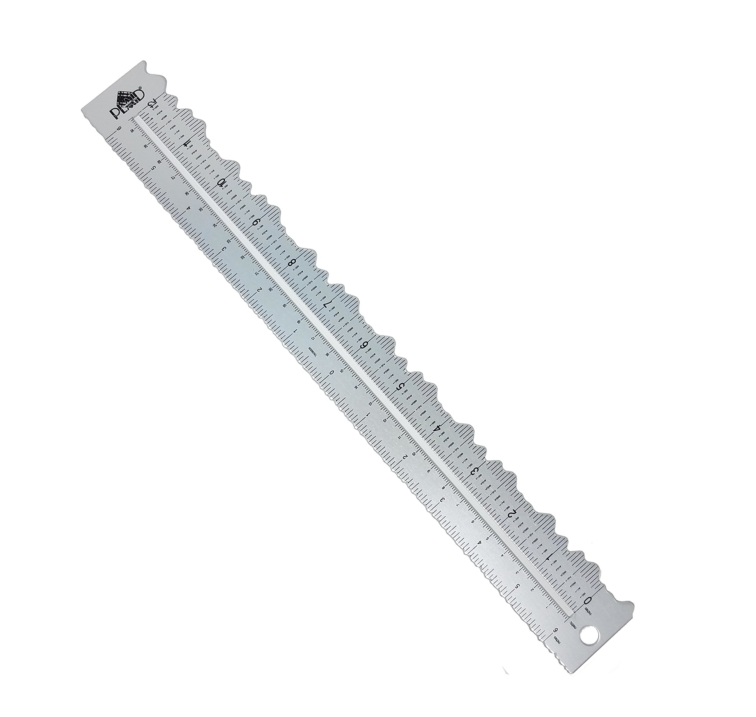 Plaid Decorative Edge Ruler-12