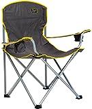 Quik Chair Heavy Duty Folding Camp Chair - Grey