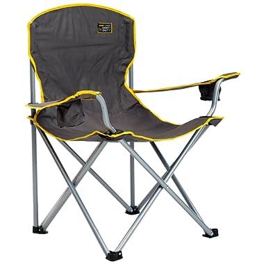 QuikShade 150239 Quik Chair Heavy Duty Folding Camp Chair - Grey