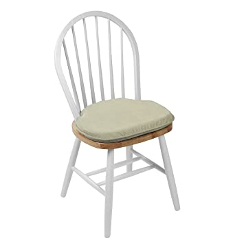 Charmant Omega Windsor Chair Cushion, Set Of 2, Ivory