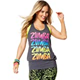 Zumba Unisex Happy Bubble Tank