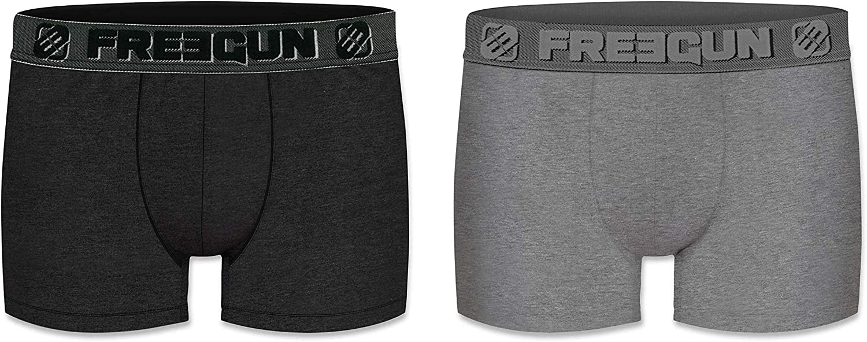 FREEGUN Boys Boxer Panties Pack of 2