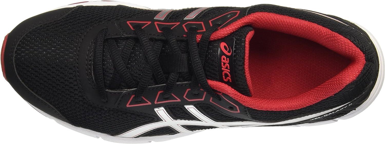 Asics Gel-Galaxy 9 GS, Zapatillas Infantil, Negro (Black/Silver/True Red), 32.5 EU: Amazon.es: Zapatos y complementos