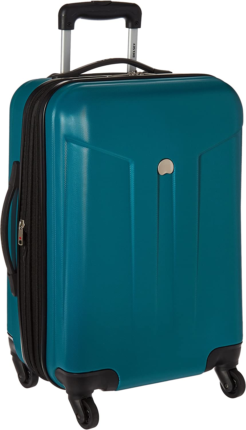 Delsey 2021new shipping free Comete 20-Inch Expandable Carry In a popularity - Luggage On Spinner Teal