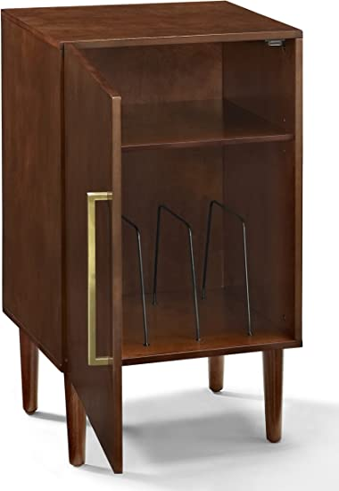 Mid Century Modern Record Player Stand with Hairpins